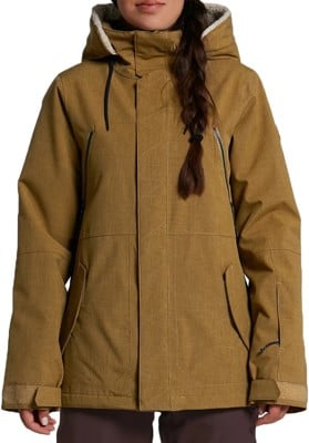 Volcom Shrine Insulated Jacket - burnt khaki - view large