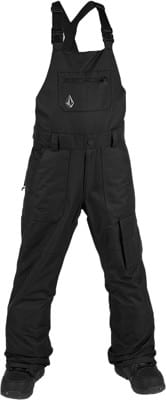 Volcom Kids Barkley Overall Bib Snowboard Pants - black - view large