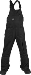 Volcom Kids Barkley Overall Bib Snowboard Pants - black