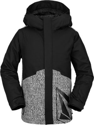 Volcom Kids 17Forty Insulated Snowboard Jacket - black - view large