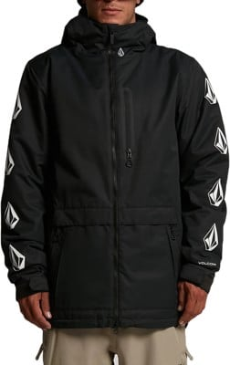 Volcom Deadly Stones Insulated Jacket - black - view large