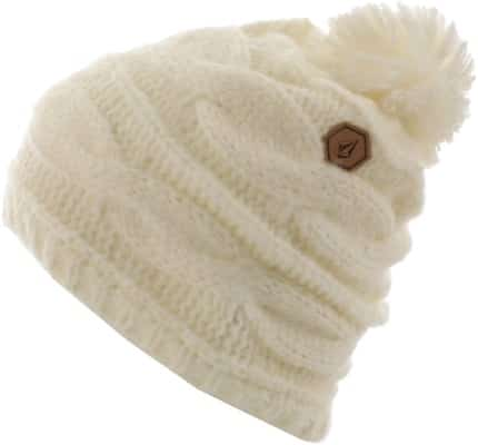 Volcom Leaf Beanie - white - view large