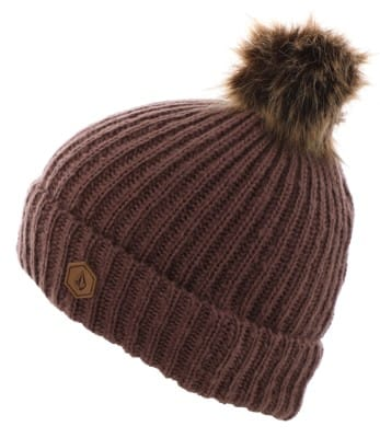 Volcom Lula Beanie - rosewood - view large