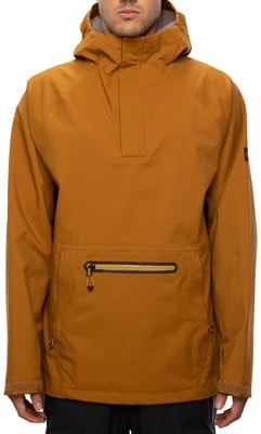 686 GLCR 3L Pike Hoody Jacket - golden brown - view large