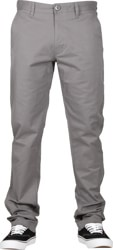 Volcom Frickin Slim Chino Pants - pewter