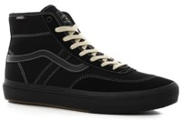 Vans Crockett Pro High Top Skate Shoes - black/black