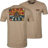 Volcom Day Waves T-Shirt - sand