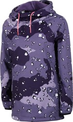 DC Shoes Salem Fleece Hoodie - chocolate chip grapescale camo