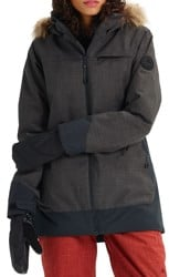 Burton Lelah Insulated Jacket - heather black/true black
