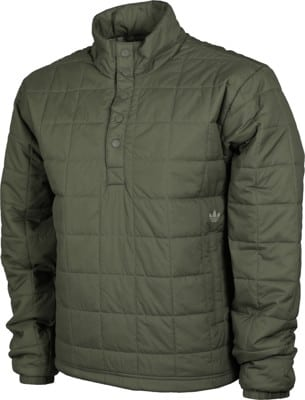 Adidas Quilted PrimaLoft Jacket - legacy green/feather grey - view large