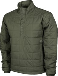 Adidas Quilted PrimaLoft Jacket - legacy green/feather grey