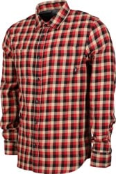 Vans Alameda II Flannel Shirt - chili pepper/khaki