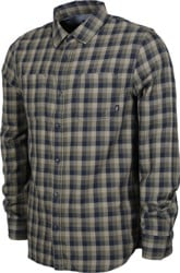 Vans Alameda II Flannel Shirt - dress blues/grape leaf