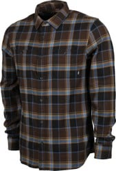 Vans Banfield III Flannel Shirt - demitasse/black