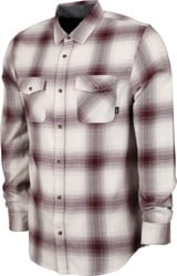 Vans Monterey III Flannel Shirt - antique white/port royale