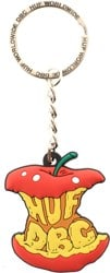 HUF Bad Apple Keychain - red