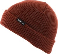 HUF Essentials Usual Beanie - brick