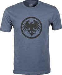 Never Summer Eagle Icon T-Shirt - shale blue heather