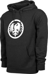 Never Summer Eagle Icon Hoodie - charcoal heather