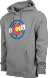 Never Summer Eagle Colorado Hoodie - gunmetal heather