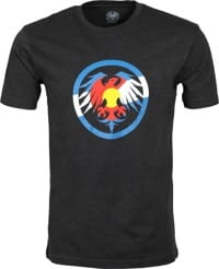 Never Summer Eagle Colorado T-Shirt - black graphite heather