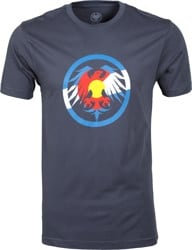 Never Summer Eagle Colorado T-Shirt - harbor blue