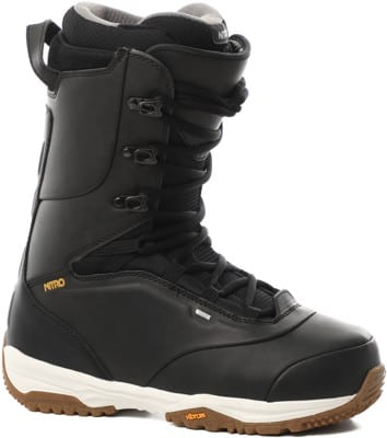 Nitro Venture Pro Lace Snowboard Boots 2021 - black/white/gold - view large