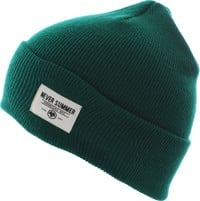 Never Summer Cuffed Beanie - spruce