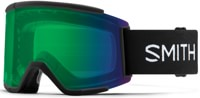 Smith Squad XL ChromaPop Goggles + Bonus Lens - black/everyday green mirror lens + storm rose flash lens