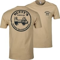 Nutty's Hardware Team Logo T-Shirt - old gold