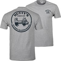 Nutty's Hardware Team Logo T-Shirt - team heather