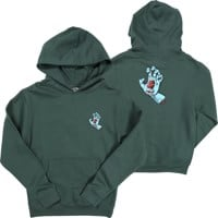Santa Cruz Kids Screaming Hand Hoodie - alpine green