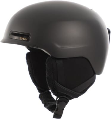 Smith Allure Women's Snowboard Helmet - matte black pearl - view large