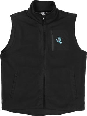 Santa Cruz Hand Vest Jacket - black - view large
