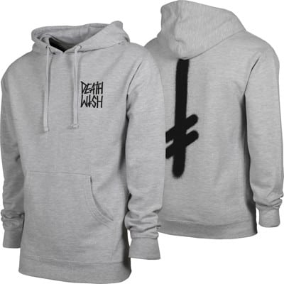 Deathwish The Truth Hoodie - heather grey - view large