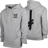 Deathwish The Truth Hoodie - heather grey