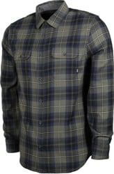Vans Sycamore Flannel Shirt - grape leaf/dress blues