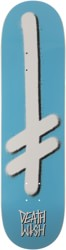 Deathwish Gang Logo 8.25 Skateboard Deck - ice blue