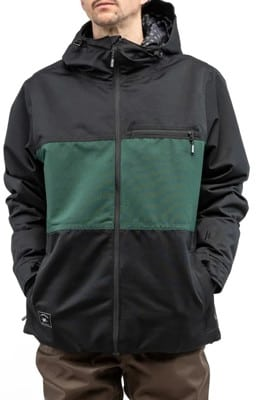 L1 Hasting Insulated Jacket - black/emerald - view large