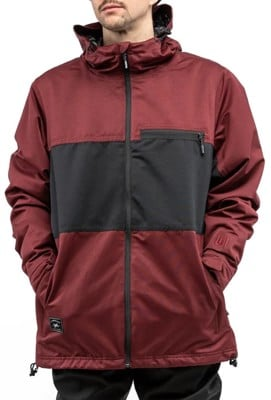 L1 Hasting Insulated Jacket - wine/black - view large