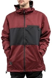 L1 Hasting Insulated Jacket - wine/black