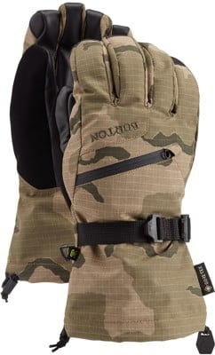 Burton Gore-Tex Gloves - barren camo - view large