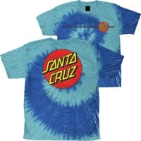 Santa Cruz Kids Classic Dot T-Shirt - stella blue