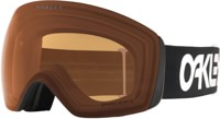 Oakley Flight Deck Goggles - factory pilot black/prizm persimmon lens