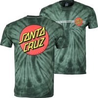 Santa Cruz Classic Dot T-Shirt - spider green
