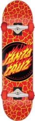 Santa Cruz Flame Dot 8.25 Complete Skateboard