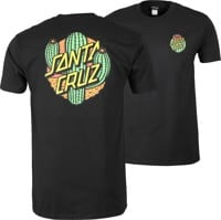 Santa Cruz Cactus Dot T-Shirt - black