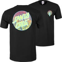Santa Cruz Roskopp Dot T-Shirt - black