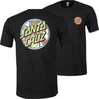 Santa Cruz Jackpot Dot T-Shirt - black