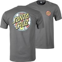 Santa Cruz Jackpot Dot T-Shirt - heavy metal